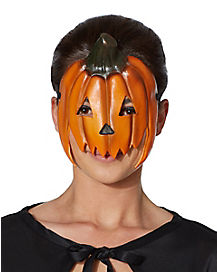 Retro Pumpkin Eye Mask