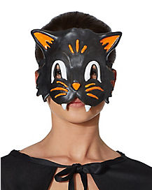 Retro Black Cat Eye Mask