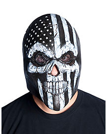 Old Glory Skull Mask
