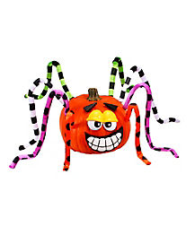 Yellow Eye Spider Pumpkin Kit