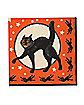 Black Cat Napkins 16pk