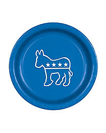 Democratic Donkey Plates