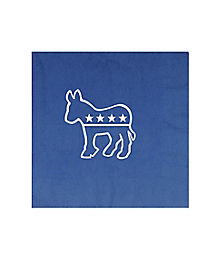 Democratic Donkey Napkins