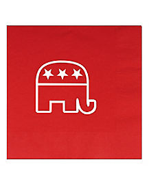 Republican Elephant Napkins