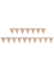 Happy Halloween Pendant Banner - Decorations
