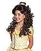 Kids Belle Wig Prestige - Beauty and the Beast