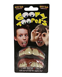 Goofy Toofers Fake Teeth 2 Pack