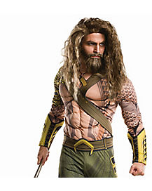 Adult Aquaman Wig Beard - Batman v Superman Dawn of Justice