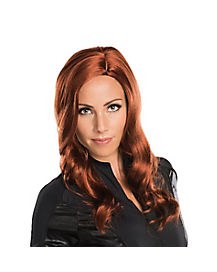 Adult Black Widow Wig - Captain America Civil War
