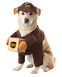 UPS Pal Dog Pet Costume