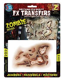 3D FX Zombie Jaw Bone