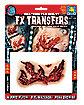 Ripped Flesh Makeup FX Transfer