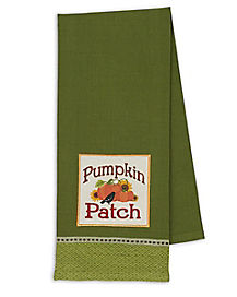 Pumpkin Patch Dish Towel