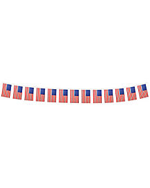 15 Ft Hanging Patriotic Flags - Decorations