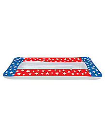 5 Ft Patriotic Inflatable Buffet Cooler - Decorations