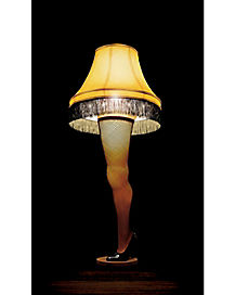 Leg Lamp Window Poster - A Christmas Story