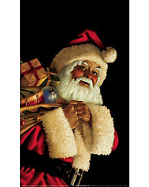 Santa Claus Window Poster - Decorations