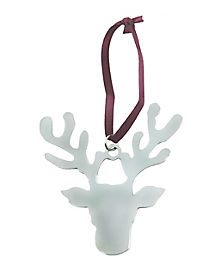 Metal Reindeer Ornament