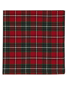 Plaid Holiday Napkin