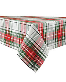 Plaid Christmas Table Cloth