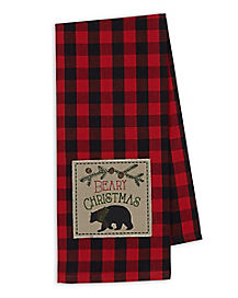 Beary Christmas Dish Towel