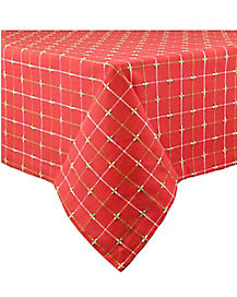 Holiday Dobby Tablecloth