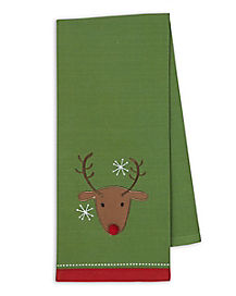 Reindeer Dish Towel