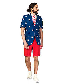 Stars and Stripes Summer Suit