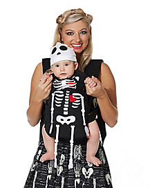 Rattles the Skeleton Baby Carrier Costume