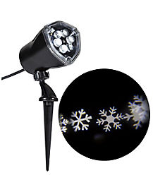 Snow Flurry LED Light Show Projector