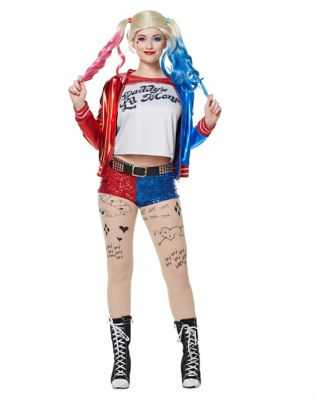 Adult Harley Quinn Costume - Suicide Squad