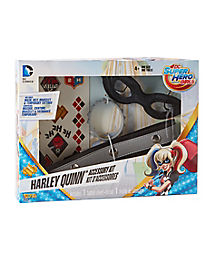 Kids Harley Quinn Accessory Kit - DC Super Hero Girls