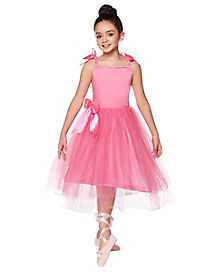 Kids Pink Ballerina Costume - The Signature Collection
