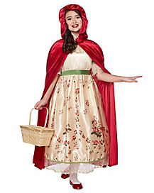 Kids Vintage Red Riding Hood Costume - The Prestige Collection