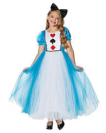 Kids Adventurous Alice Costume - The Prestige Collection