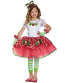 Kids Strawberry Shortcake Costume Deluxe - The Signature Collection