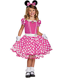 Kids Minnie Mouse Costume Deluxe - Disney