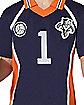 Adult Navy Volleyball Uniform Costume