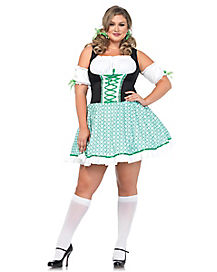Adult Clover O'Cutie Plus Size Costume