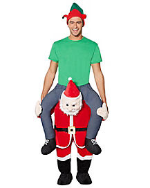 Adult Santa Ride-A-Long Costume