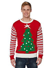Light Up Tree Ugly Christmas Sweater