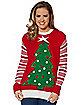 Light Up Tree Ugly Christmas Sweater