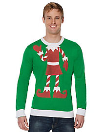 Elf Ugly Christmas Sweater