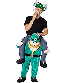 Adult Leprechaun Ride-A-Long Costume