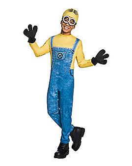 Kids Dave Minions One Piece Costume - Despicable Me 3