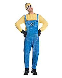 Adult Jerry the Minions Costume - Despicable Me 3