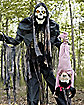 6.5 Ft Towering Boogeyman With Kid Animatronics - Decorations