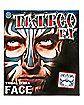 Tribal Zebra Face Tattoo