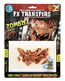 3D Fx Zombie Throat Gash