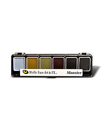 Wolfe Monster Hydrocolor Theatrical FX Makeup Palette